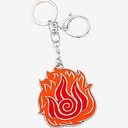 Avatar: The Last Airbender Fire Nation Enamel Keychain - BoxLunch Exclusive   BoxLunch