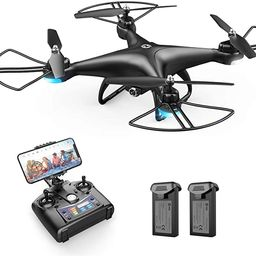 Holy Stone HS110D FPV RC Drone with 1080P HD Camera Live Video 120°Wide-Angle WiFi Quadcopter wi... | Amazon (US)