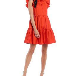 Antonio Melani x Kimberly Whitman Aleya Tiered Swing Dress   Dillard's   Dillards