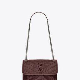 niki baby in crinkled vintage leather | Saint Laurent