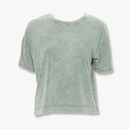 Mineral Wash Crew Tee | Forever 21 (US)