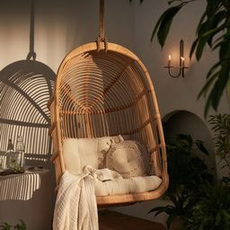 Kelsey Rattan Hanging Chair   Urban Outfitters (US and RoW)