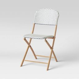 French Cafe Folding Patio Bistro Chair - Threshold™ | Target