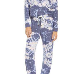 Star Seeker Brushed Jersey Pajamas   Nordstrom