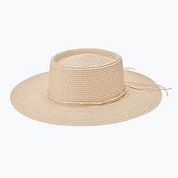 San Diego Hat Company Large Brim Boater Hat   Express