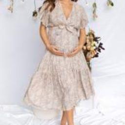 Heloi Dress - Beige   Petal & Pup (US)