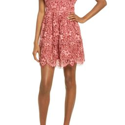 Lace Cocktail Minidress   Nordstrom