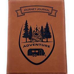 RV Camper Trailer Leather Adventure Journal Log Book | Amazon (US)