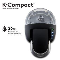 Keurig K-Compact Single-Serve K-Cup Pod Coffee Maker, Black | Walmart (US)