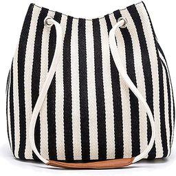 Bydenwely Women's Tote Bag Small Medium Canvas Shoulder Bag Hobo Bag Daily Working Handbag | Amazon (US)