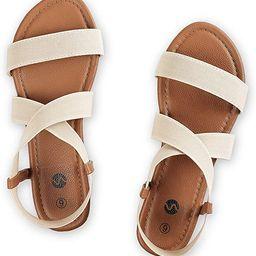 Rekayla Flat Elastic Sandals for Women | Amazon (US)
