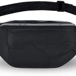 LIVACASA Holographic Fanny Packs for Women Cute Waist Packs Shiny Waist Bum Bag Waterproof for Tr... | Amazon (US)