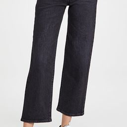 Ribcage Straight Ankle Jeans | Shopbop