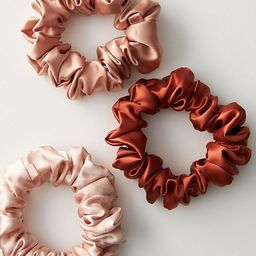 Slip Silk Large Scrunchie Set | Anthropologie (US)