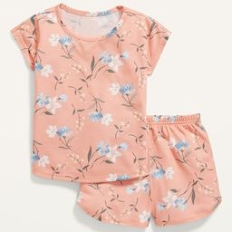 Unisex Loose-Fit Printed Pajama Set for Toddler & Baby   Old Navy (US)