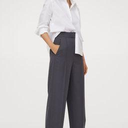 Cotton-blend Shirt | H&M (US)