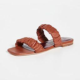 Maya Ruched Sandals   Shopbop