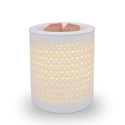 HELIOS Candle Warmer Electric Wax Melt Warmer with Dimmer Switch White Ceramic Wax Tart Burner Fr...   Amazon (US)