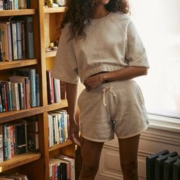 Out From Under Deja Drawstring Sweatshort | Urban Outfitters (US and RoW)