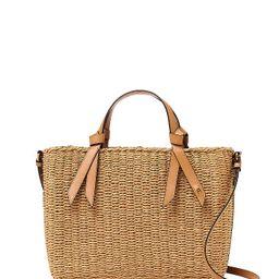 Luca Medium Boxy Straw Beach Satchel   Bloomingdale's (US)