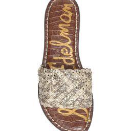 Geraldine Embellished Slide Sandal | Nordstrom