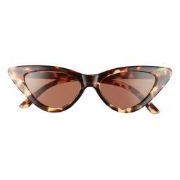 58mm Super Cat Eye Sunglasses | Nordstrom