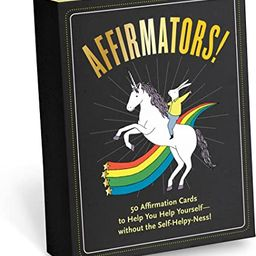 Affirmators! 50 Affirmation Cards to Help You Help Yourself - Without The Self-Helpy-Ness! | Amazon (US)