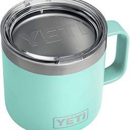 YETI Rambler 14 oz Mug, Stainless Steel, Vacuum Insulated with Standard Lid | Amazon (US)