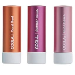 COOLA Mineral Liplux SPF 30 Organic Tinted Trio from Revolve.com   Revolve Clothing (Global)