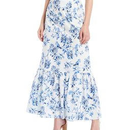x Born on Fifth Hanna Floral Poplin Maxi Skirt | Dillards