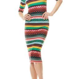 Delora Boho Geo Print Dress | Nordstrom