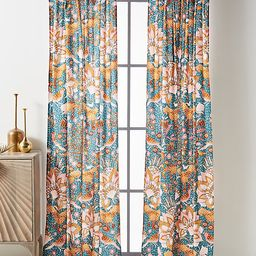 """Mahina Curtain By Anthropologie in Blue Size 50"""" X 96   Anthropologie (US)"""