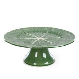 Cabbage Footed Cake Plate   Dillards