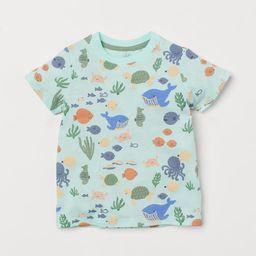 Cotton T-shirt   H&M (US)