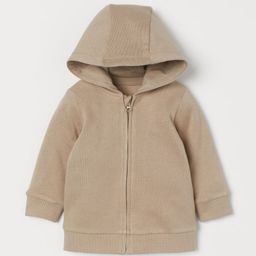Hooded Sweatshirt Jacket   H&M (US)