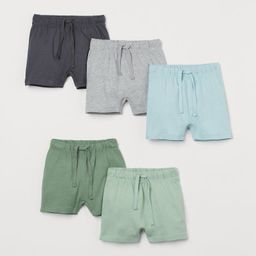 5-pack Jersey Shorts   H&M (US)