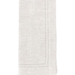 Double-Hem-Stitched Linen Napkin   Dillards