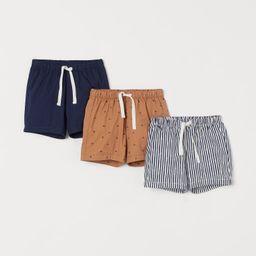 3-pack Cotton Shorts | H&M (US)