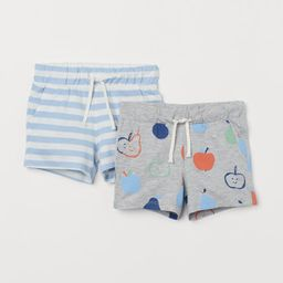 2-pack Cotton Shorts | H&M (US)