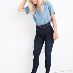 Petite Curvy High-Rise Skinny Jeans in Orland Wash: TENCEL™ Denim Edition | Madewell