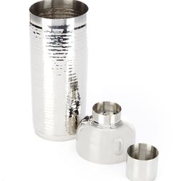 Modern Stainless Steel Hammered Cocktail Shaker   Dillards
