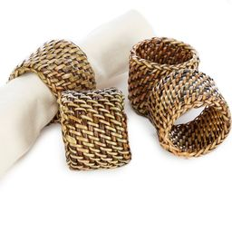 Nito Napkin Rings, Set of 4 | Dillards