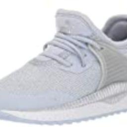 PUMA Unisex-Child Pacer Next Cage Slip On Sneaker, Heather White-Silver-Bluestone, 11 M US Little Ki | Amazon (US)