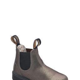 Boy's Blundstone Blunnies Chelsea Boot, Size 2US - Metallic | Nordstrom
