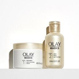 Masks   Resurfacing Peel   Vitamin C + AHA   Olay
