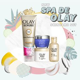 SPA DE OLAY    At Home Spa   Gift Set   Olay