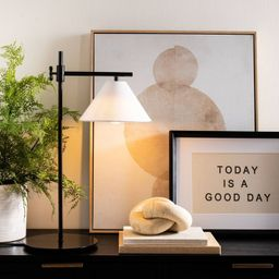 Downbridge Table Lamp Black - Threshold™ designed with Studio McGee | Target