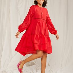 Roma Lace Trim Dress | Cynthia Rowley