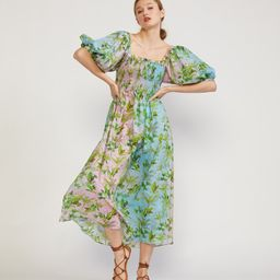 Alice Smocked Dress | Cynthia Rowley