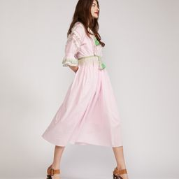 Daliah Tassel Cotton Dress | Cynthia Rowley